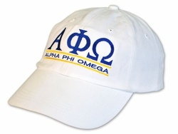 Alpha Phi Omega Line Hat SALE $18.95. - Greek Clothing and Merchandise - Greek Gear®