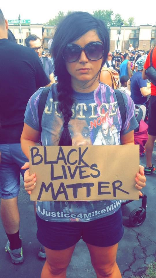 This is guest post from Elle Dowd a candidate for ordained ministry in the ELCA. Elle was active in the Ferguson Uprising (pictured above) and an active voice in the #DecolonizeLutheranism …