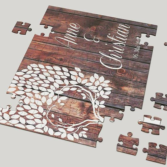 45x30 Puzzle Hochzeitsspiele & Hochzeitsgeschenk