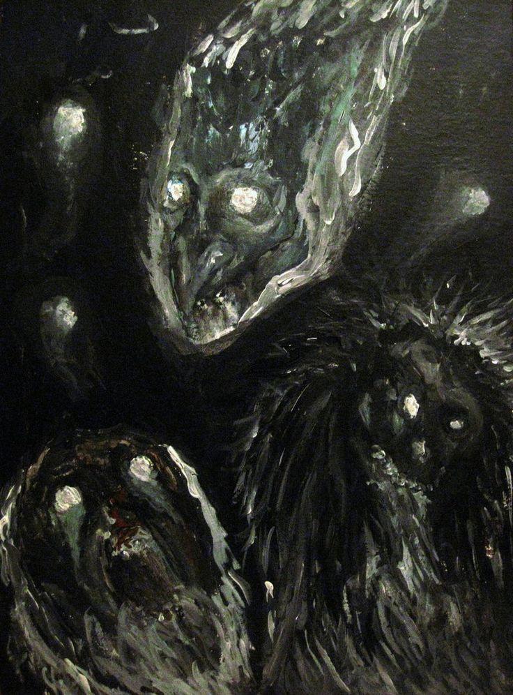 Los Larvae, espectros terribles de la mitología romana.
