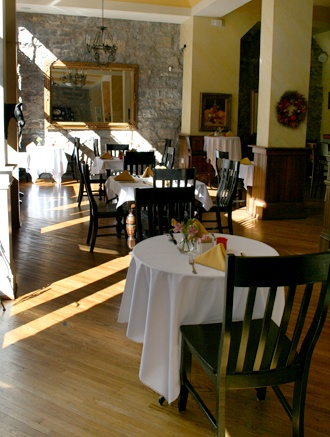 The Limestone Dining Room At Stonefort Inn Stonefortinn
