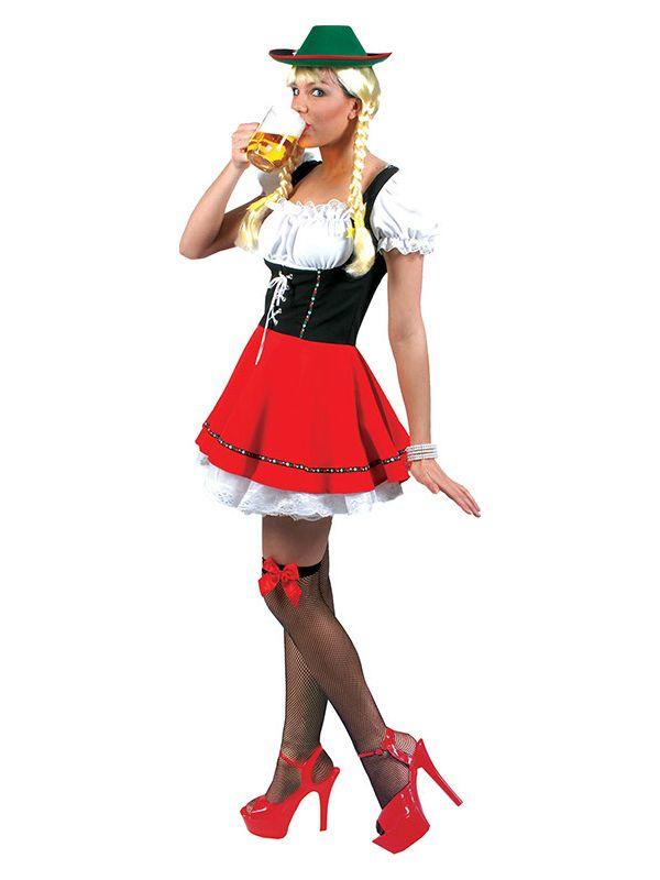 Tyrolerkjole Greta - Kostyme til oktoberfest