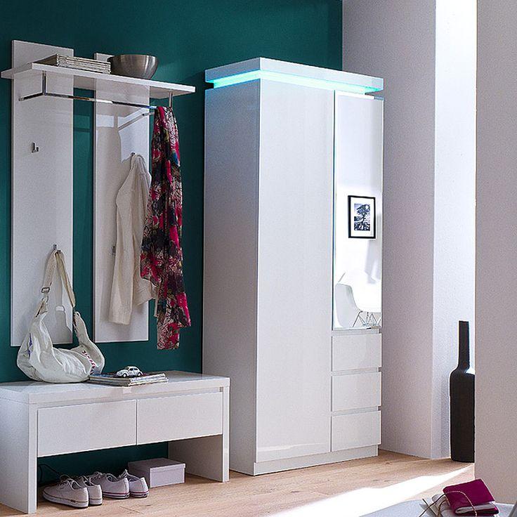 e-combuy Angebote Garderoben Set LAZURE148 Hochglanz weiß lackiert: Category: Garderoben-Sets Item number:…%#Quickberater%
