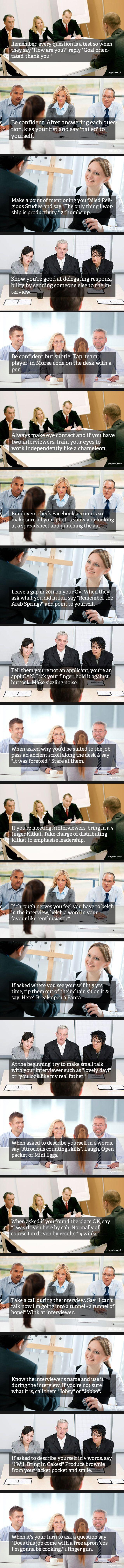 Essential Job Tips