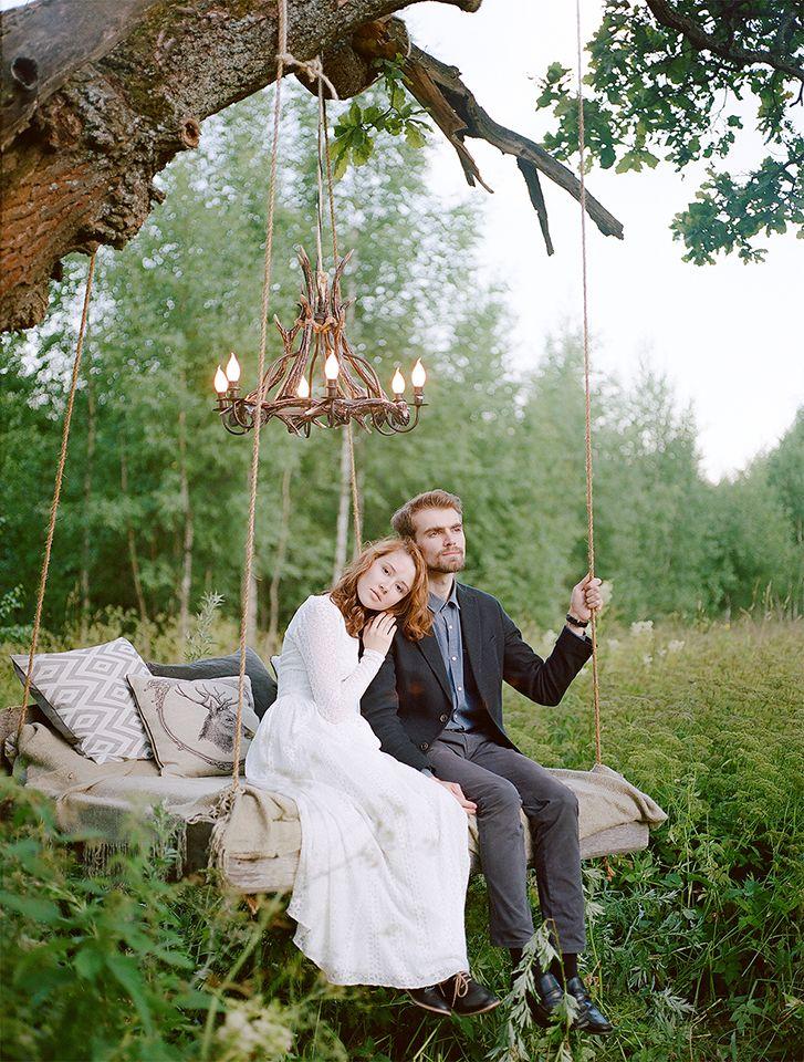 Зачарованный лес: свадьба Константина и Юлии weddywood.ru