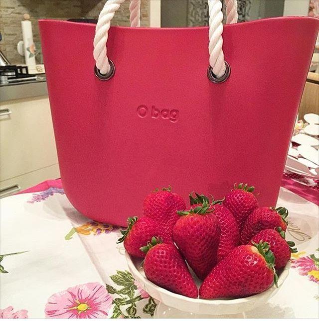 @federicaferraro84's beautiful bag #strawberry #obag #obagonline #obagstore #spring