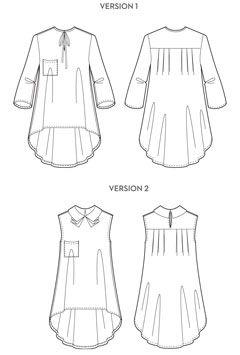 Digital Roxanne Sewing Pattern | Sewing Pattern Shop | Oliver + S