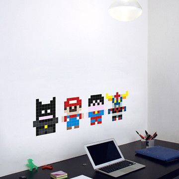 Heroes 1980 Stickers, 17€, now featured on Fab.