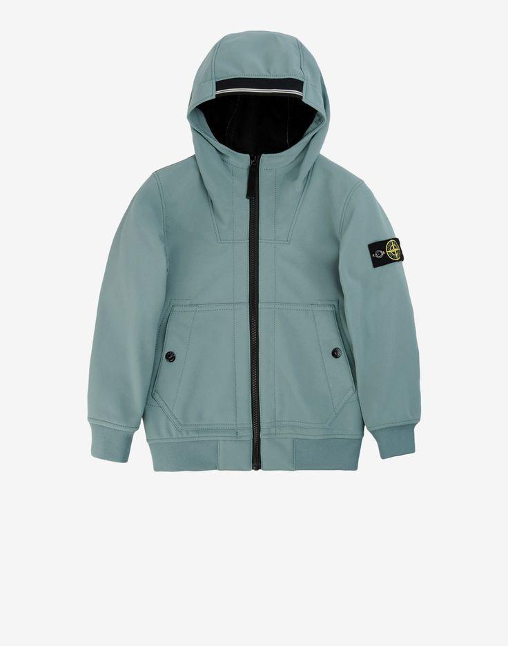 40330 SOFT SHELL R Mid Length Jacket Stone Island Junior , Stone Island  Online Store
