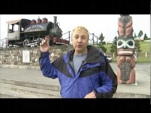 Scenic Train Ride to Denali National Park- Denali, Alaska - YouTube