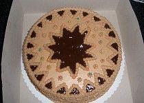 Čokoládový dort s pařížskou šlehačkou, nutellovým krémem a vynikající čokoládou