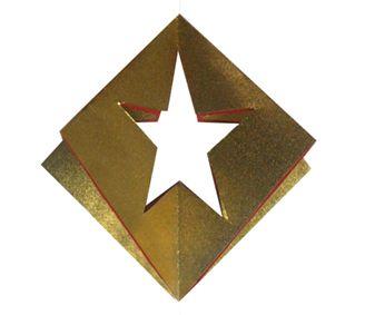 Origami Cross Star