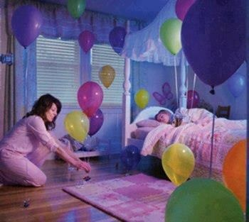 A gr8 idea  Imagine when ur kid wake up on his birthday nd find this