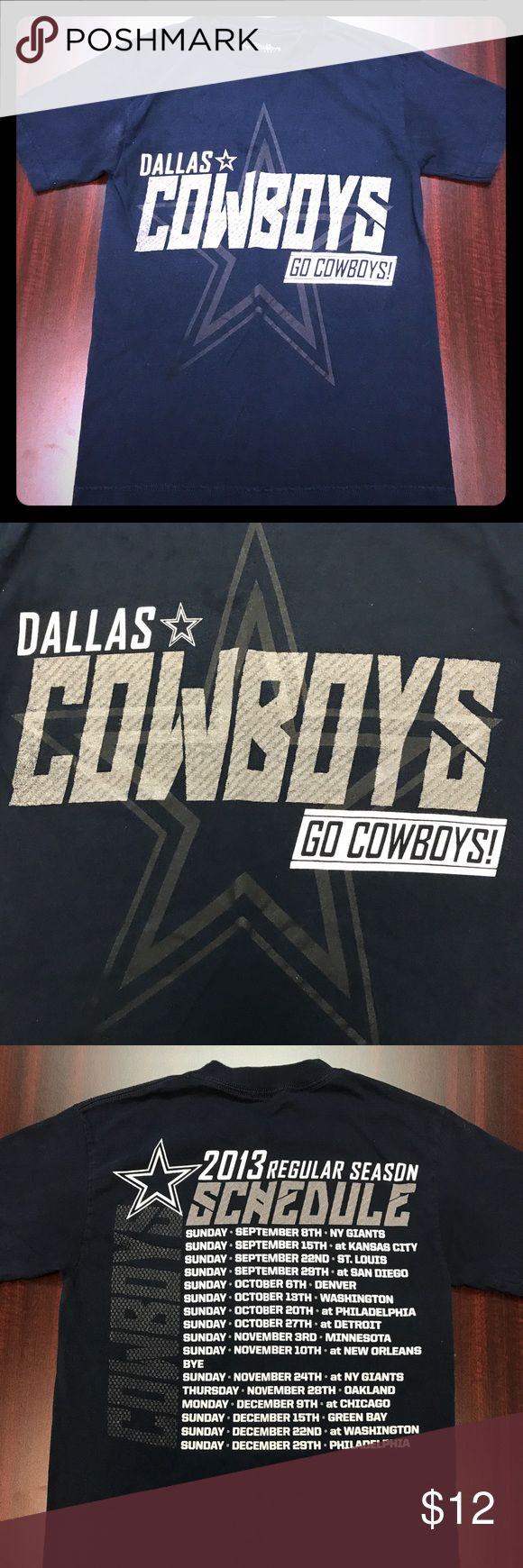 Nfl dallas cowboys football men s t shirt for sale is a size small nfl