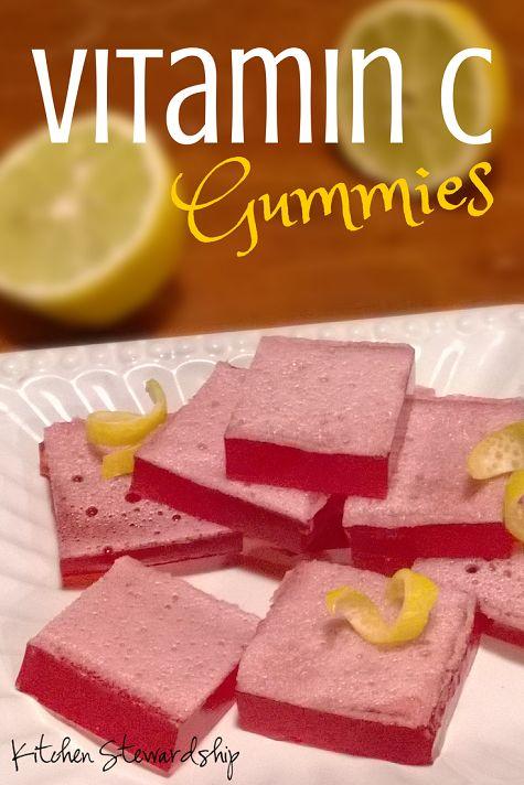 Healthy Homemade Vitamin C Gummies | Recipe | Vitamin c ...