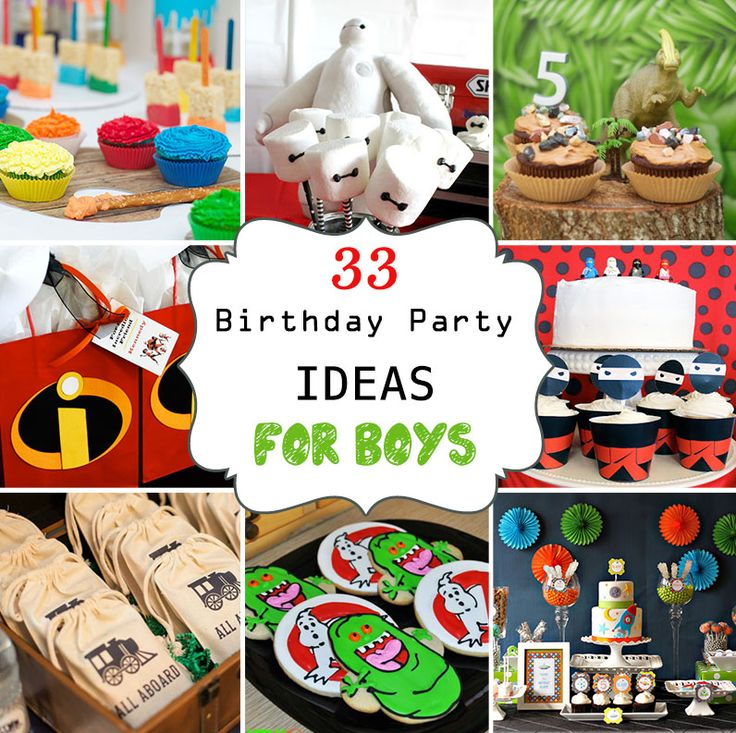 1000+ Images About Boy Birthday Bashes On Pinterest