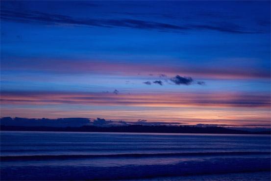 Sunrise Orewa Beach, Hibiscus Coast, New Zealand