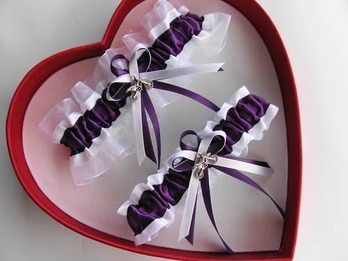 MotoCross Wedding Garter Set