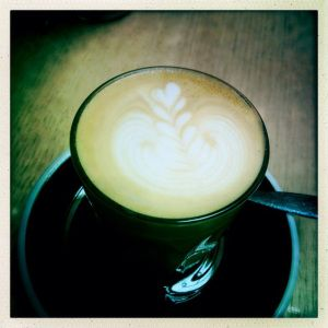 Latte love made by Sevenseeds Coffee Melbourne