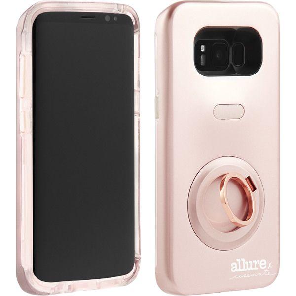 Casemate Allure Selfie Cases Cm035626 Samsung Galaxy S8 Plus Case Mate Allure Selfie Case Rose Gold Selfie Cases Galaxy S8 Case Mate