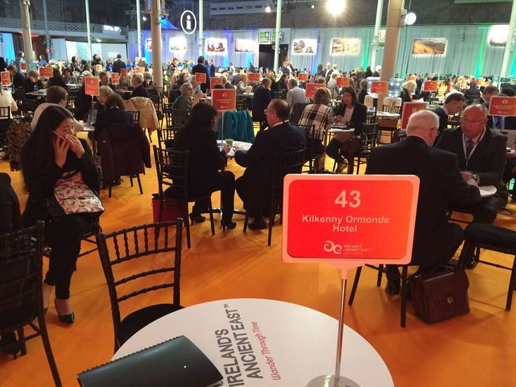 It's all buzz at Meitheal 16. International buyers showing great interest in Ireland's Ancient East and Kilkenny Ormonde Hotel