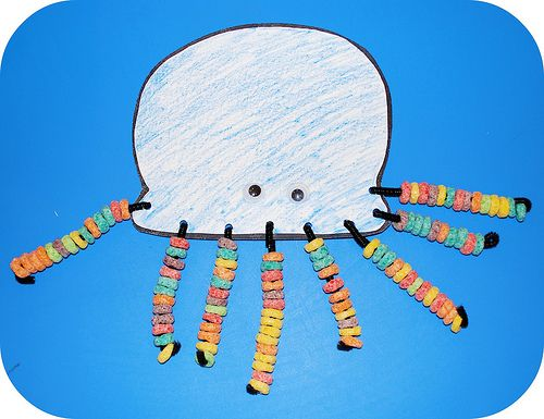 Octopus Craft. Did this with pre-k and kindergarten kids. They loved it!