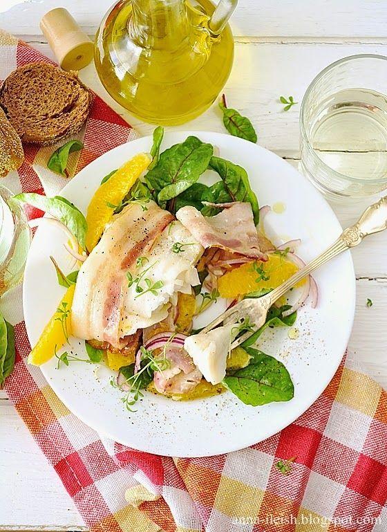 Вкусные домашние обеды: Треска в ломтиках бекона