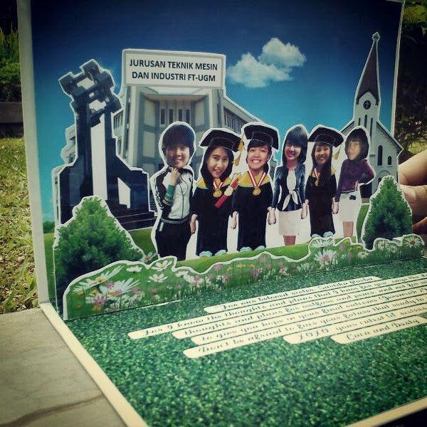 snappopup: Pop up card: Happy Graduation :) - jogja