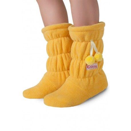 Ev içi çizme sarı. #indoor #panduf #çizme #yellow