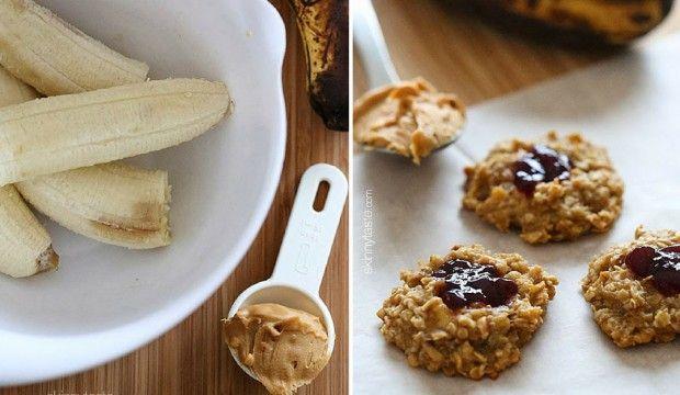 Rychlé ovesné sušenky ze 4 ingrediencí