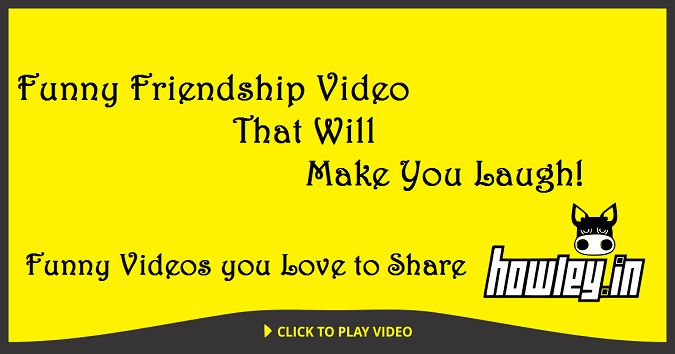 Howley.in http://howley.in/noob-central/funny-friendship-video-that-will-make-you-laugh/ #Funny #FunnyVideo #Friend #Laugh #Lol #Howley Think of this video next time when you're crossing the road with your friend.  Video Source:https://www.youtube.com/watch?v=PDhbQ9vnk1M