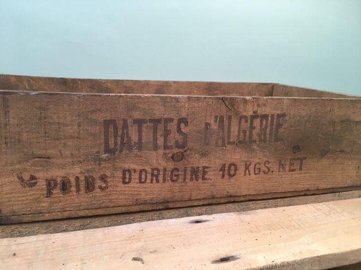 Vintage Wooden Fruit Box by BeauObjetVintage on Etsy
