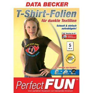 Data Becker Original-Papier : T-Shirt-Folien für dunkle Textilien [Geschenkartikel] Sonderkonditionen | Pullover Bedrucken