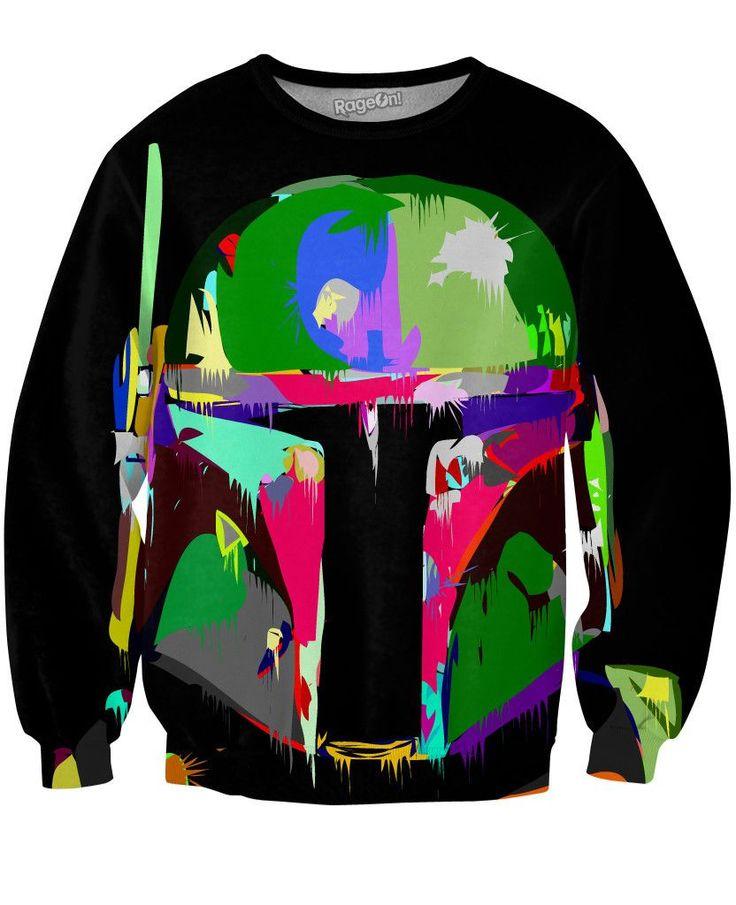 Everyone loves this! Will you?  Boba Fett Sweatshirt  http://greenclothing.co/products/boba-fett-sweatshirt?utm_campaign=social_autopilot&utm_source=pin&utm_medium=pin