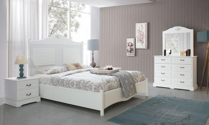 Beyaz rengin en güzel ve konforlu anlatımı... Perlit Country Yatak Odası Takım Tarz Mobilya'da !  Tarz Mobilya   Evinizin Yeni Tarzı '' O '' www.tarzmobilya.com ☎ 0216 443 0 445 📱Whatsapp:+90 532 722 47 57 #yatakodası #yatakodasi #tarz #tarzmobilya #mobilya #mobilyatarz #furniture #interior #home #ev #dekorasyon #şık #işlevsel #sağlam #tasarım #konforlu #yatak #bedroom #bathroom #modern #karyola #bed #follow #interior #mobilyadekorasyon