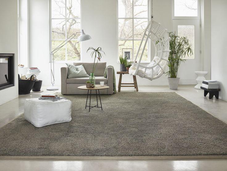 De luxe, dikke pool van Chanelle #tapijt in een natuurlijk kleurenpallet past bij het op de natuur geïnspireerde #wonen.