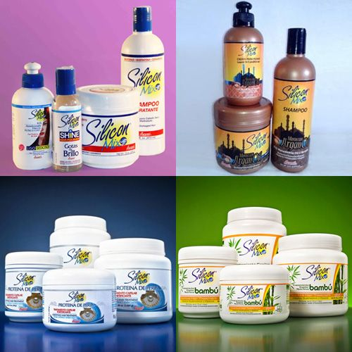 Silicon Mix hair products from the Dominican Republic