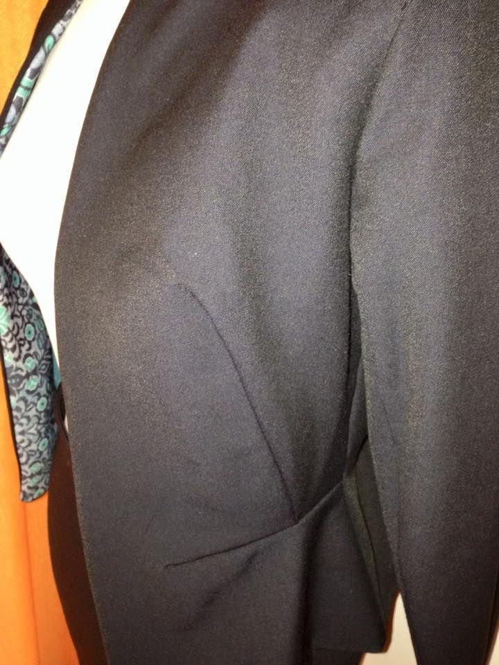 Dettaglio giacca - handmade by LoreLà
