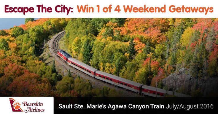 Enter to WIN the Agawa Canyon Train Getaway
