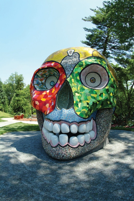 Niki De Saint Phalle at the Green in Charlotte, NC
