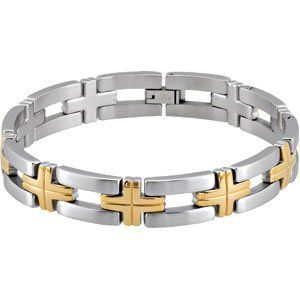 Bracelet With Cross Reeve and Knight. $88.00. This jewelry is symbolic in nature and can be the perfect gift for any and all occasions. Completely redesigned and revamped for the year 2012. Promptly Packaged with Free Shipping and Free Gift Box... Perfect for Gift Giving. This item features a high polish finish for Excellent sparkle and pop. Manufactured using up-to-date manufacturing techniques ensuring the highest quality and value. Save 71% Off!
