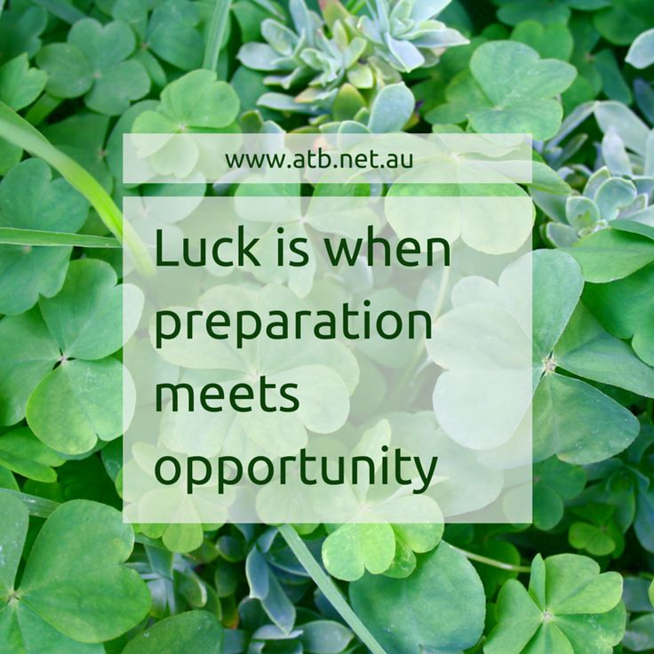 Quote Success Is When Preparation Meets Opportunity: Luck Is When Preparation Meets Opportunity
