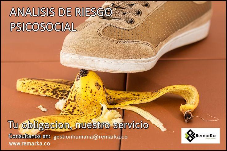 Analisis de Riesgos Psicosociales un elemento reglamentario hoy en Colombia y cuyo diagnostico lo puedes realizar a traves de nosotros en Remarka, consultanos ahora en gestionhumana@remarka.co