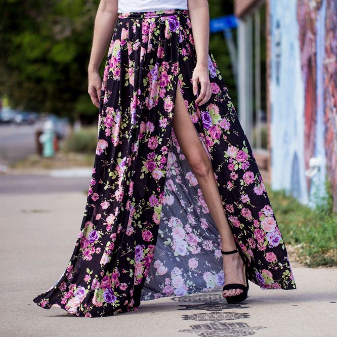DIY Pleated Maxi Skirt - DIY Craft Kits, Monthly Craft Projects, Supplies, Subscription Box | Whimseybox