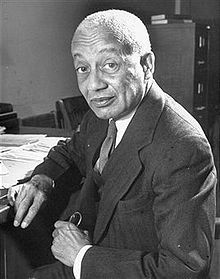 """Alain Locke was an American writer, philosopher, educator, and patron of the arts. He is best known for his writings on and about the Harlem Renaissance. He is regarded as the """"Father of the Harlem Renaissance""""."""