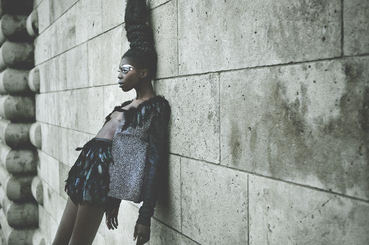 Photo: Pascal Bunning Style: Elias Moussa Make Up: Bastien Caerou Hair: Momo Sabah Model: Sonja Wanda
