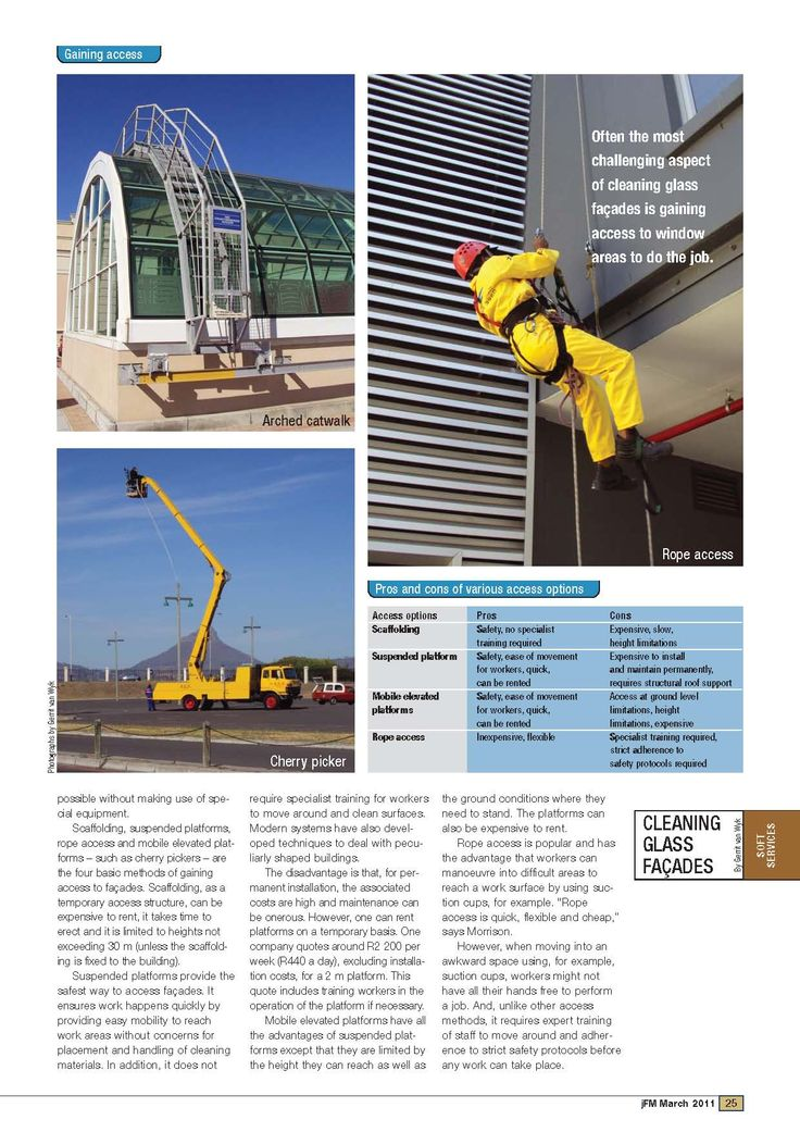 Neroqom South Africa article in The Journal of Facilities Management on Glass Renovation. Page 2 of 4
