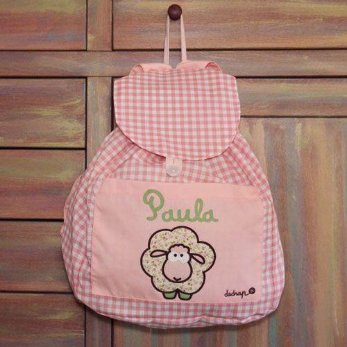 Mochilas y bolsas para la guarder a mochilas de tela - Bolsas de tela para ninos ...