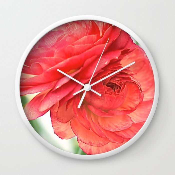 Buy Vintage Ranunculus (10) Wall Clock by maryberg. Worldwide shipping available at Society6.com. Just one of millions of high quality products available.