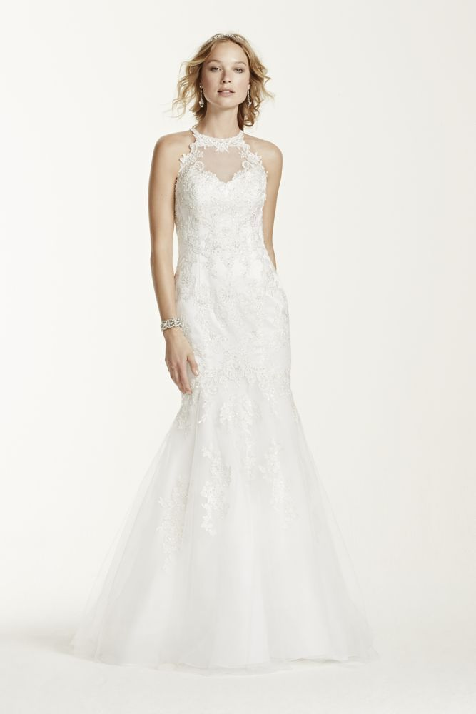 Jewel Pee Lace And Tulle Wedding Dress Soft White 2p Bridal Party Dresses Pinterest